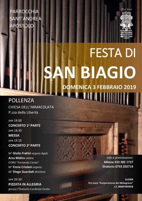 Concerto di San Biagio 2019